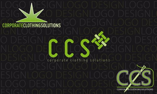 corporate clothing solutions logo concepts