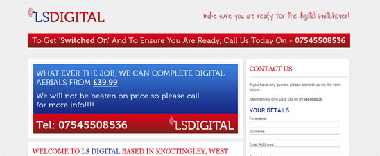 LS Digital Website